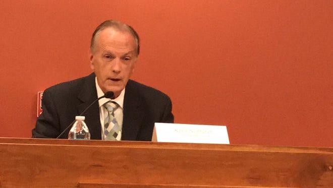 Kevin Northcraft, Tulare Hospital Board president.