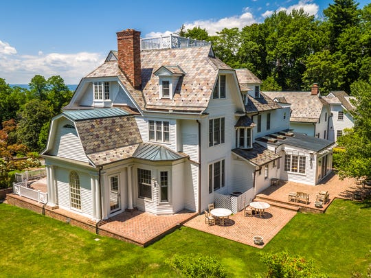 366 Scarborough Road, a Georgian style Hudson River Valley estate, will be auctioned June 27.