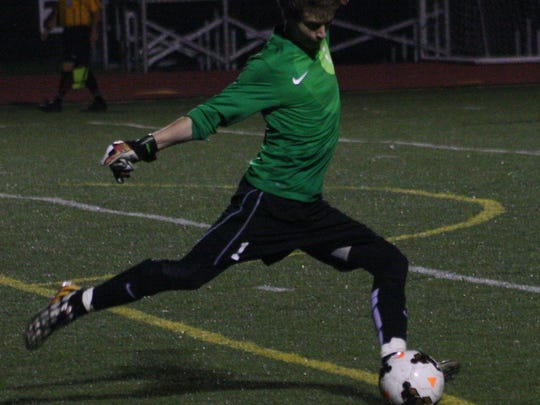Churchill senior keeper Brandon Dix registered 11 saves Monday night against Stevenson.