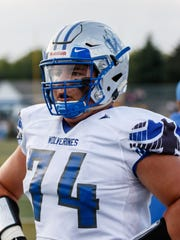 Waukesha West's Bryce Texeira is currently a freshman on the Navy football team.