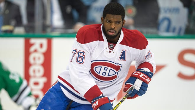 P.K. Subban won the Norris Trophy in 2013.