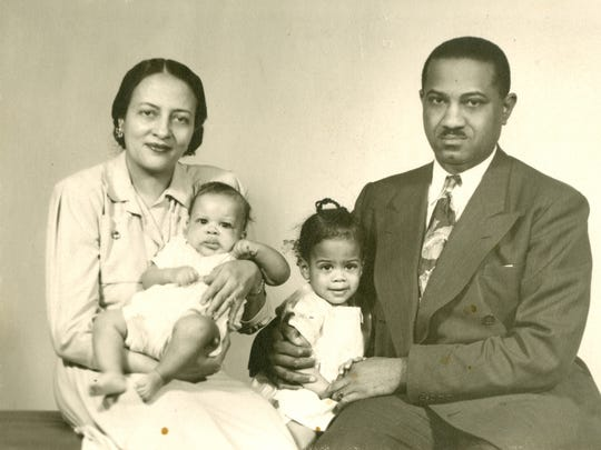 Dr. Akosua Barthwell Evans shared this family photo of her parents, Sidney and Gladys Barthwell. Sidney Barthwell came to Detroit from Georgia in the early 1920s.