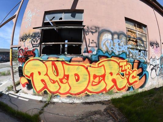 A local Graffiti Graveyard