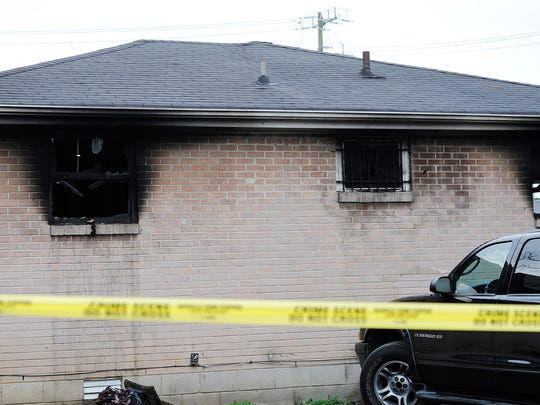 The Nashville Fire Department investigates a fire that