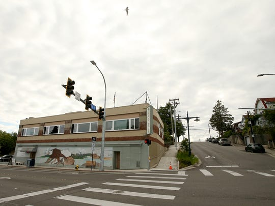 The Bremerton Eagles sits on the corner of Washington Avenue and Sixth Street. The storied Eagles club has sold its location and is searching for a new home.