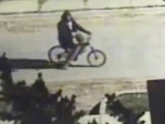 A still image from a video clip of a new suspect wanted in connection with the fatal shooting of Wayne State University Police Sgt. Collin Rose.