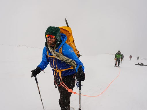 As founder of Veterans Expeditions, former Army Ranger