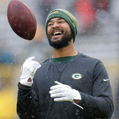 Green Bay Packers tight end Richard Rodgers is shown