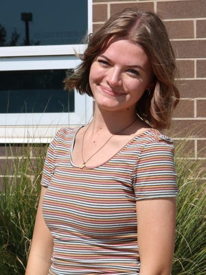 Madyson Groves is one of four candidates for homecoming queen.