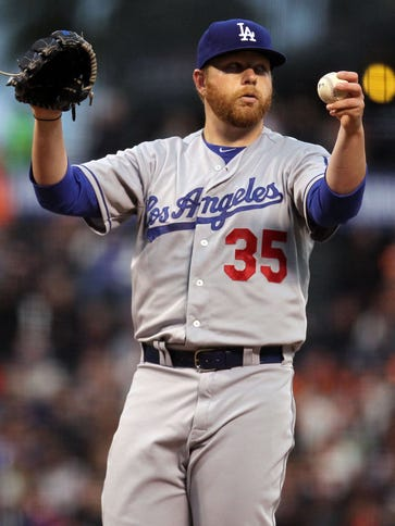 Brett Anderson is 1-1 with a 5.49 earned-run average