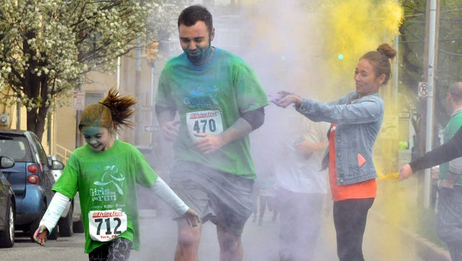 Saturday's Race Against Racism is a chip-timed 5k run through York City, promoting awareness of the racial injustice in York and providing essential funding for YWCA York's Racial Justice efforts. April 25, 2015 Bil Bowden photos