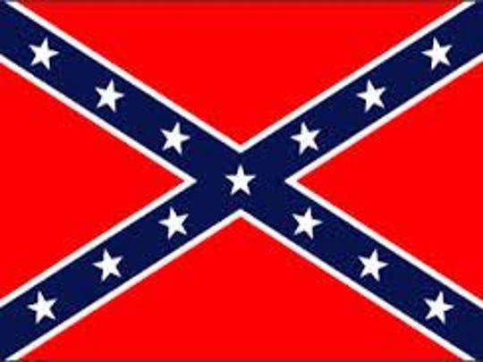 Flag Confederate battle