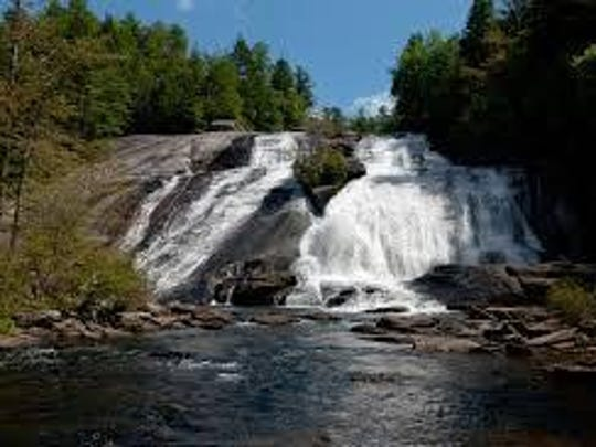 High Falls is one of the popular spots in DuPont State Forest.