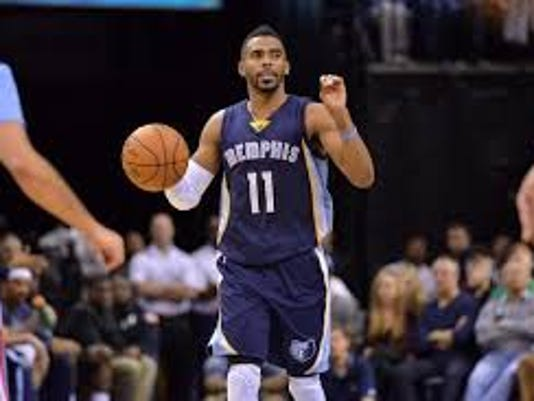 Mike Conley settled down his Grizzlies and shot down the Warriors with 22 points in 27 minutes Tuesday night. Memphis tied its series with the Warriors with a 97-90 win.