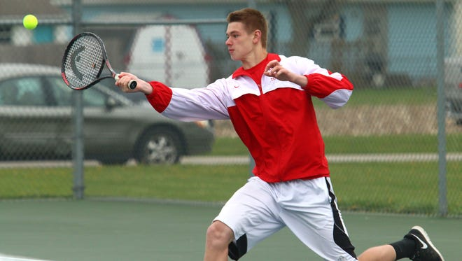 Bucyrus' Kyle Hamm competes during last year's Jim Grady Invitational.