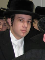 Mendel Taub, as a 15-year-old yeshiva student in  New