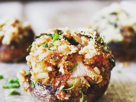 Vegan Baby Portobello Mushroom Bites made by Kathy