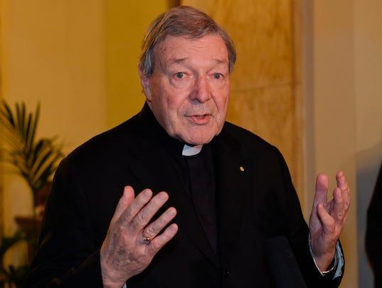 Cardinal George Pell Vatical Profile Photo