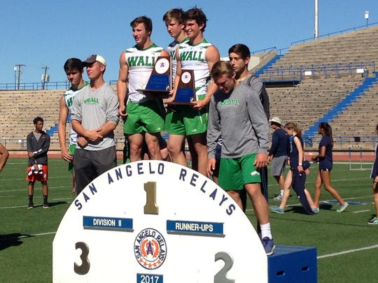 Wall was the runner-up at the San Angelo Relays Saturday March 25 at San Angelo Stadium.