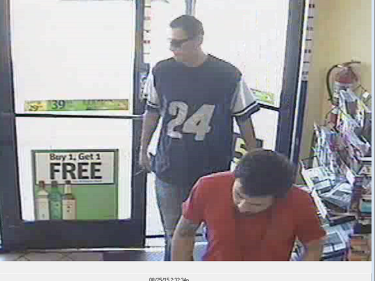 Peoria police say they are looking for these two men