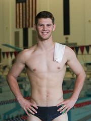 Howell's Caleb Balgaard will compete as a swimmer and