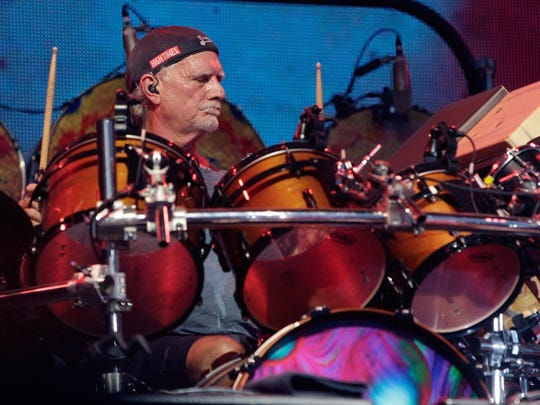 Bill Kreutzmann, drummer for Dead & Company performs at the Bonnaroo Music and Arts Festival on June 12 in Manchester Tenn.