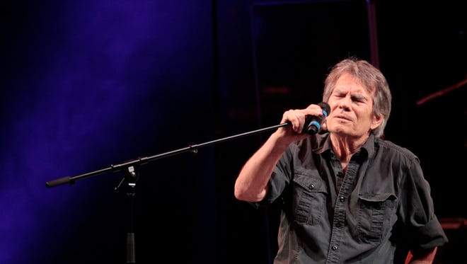 Jerry Riopelle performs at the Alice Cooper Benefit Concert at the Tucson Convention Center. Riopelle has been popular for many years in the Valley.