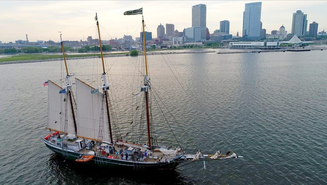 The Denis Sullivan, Discovery World's tall ship, offers excursions from the museum at 500 N. Harbor Drive in Milwaukee.