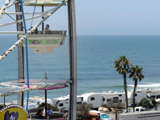 The Giant Wheel is always a favorite at the Ventura