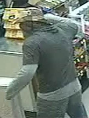A man is wanted in a Central El Paso convenience store robbery after threatening to kill the clerk with a knife, police say.