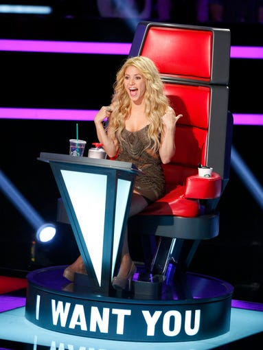 "Shakira, who made her ""The Voice"" coaching debut in season 4, returned for season 6."