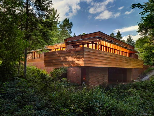 Frank lloyd wright fans will be right at home on this tour for 3 4 houses in michigan