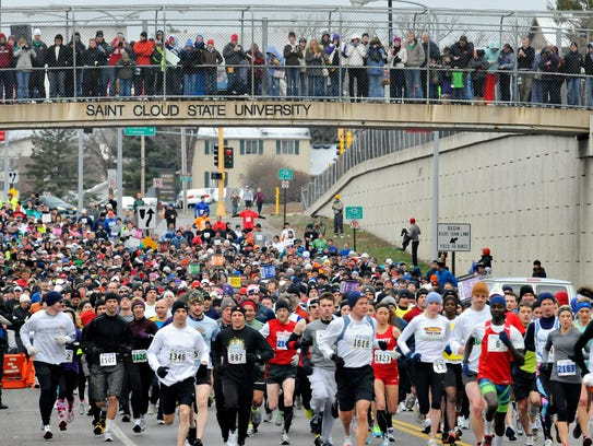 The Earth Day Half Marathon is Saturday.