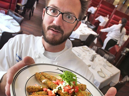 Mark Marlar was a chef, including at Oceanaire.