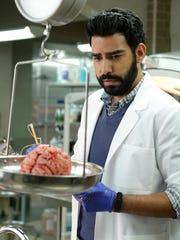 """Rahul Kohli as Ravi on """"iZombie."""""""