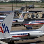 A runway at Dallas/Fort Worth International Airport has been closed because of a sinkhole.