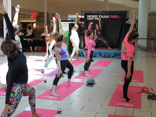 The Mills at Jersey Gardens partnered with Powerflow Yoga, to host a yoga event in the mall's Center Court on Saturday, May 6. Instructors from Powerflow Yoga studios throughout New Jersey led four classes for shoppers throughout the day as part of a fundraiser for Susan G. Komen to support breast cancer research and patients. For a donation of $10, shoppers were able to attend a 45-minute yoga class and received a commemorative yoga mat as well as an event goody bag loaded with offers from The Mills at Jersey Gardens and its retailers, including but not limited to a Savings Passbook ($5 value) and More Than Pink voucher, which will provide recipients with 25 percent off an item at all participating stores, including Michael Kors and Kate Spade New York. The event was part of The Mills at Jersey Gardens' and Simon Centers' spring 2017 More Than Pink Movement in support of Susan G. Komen and the fight against breast cancer. As part of its pledge to donate $1 million each year in 2017 and 2018, more than 180 participating Simon Malls, The Mills and Premium Outlets nationwide will be participating in a range of activities during the months of April and May. As of April 2017, Simon has raised $441,667 in support of Susan G. Komen, all generated through the support and participation of shoppers, retailers and employees. Visitwww.simon.com/mall/the-mills-at-jersey-gardens.