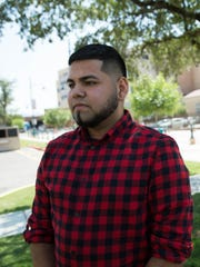 Irvin, 20, a young immigrant discussing what the Deferred Action for Childhood Arrivals has done for him. Friday September 1, 2017.