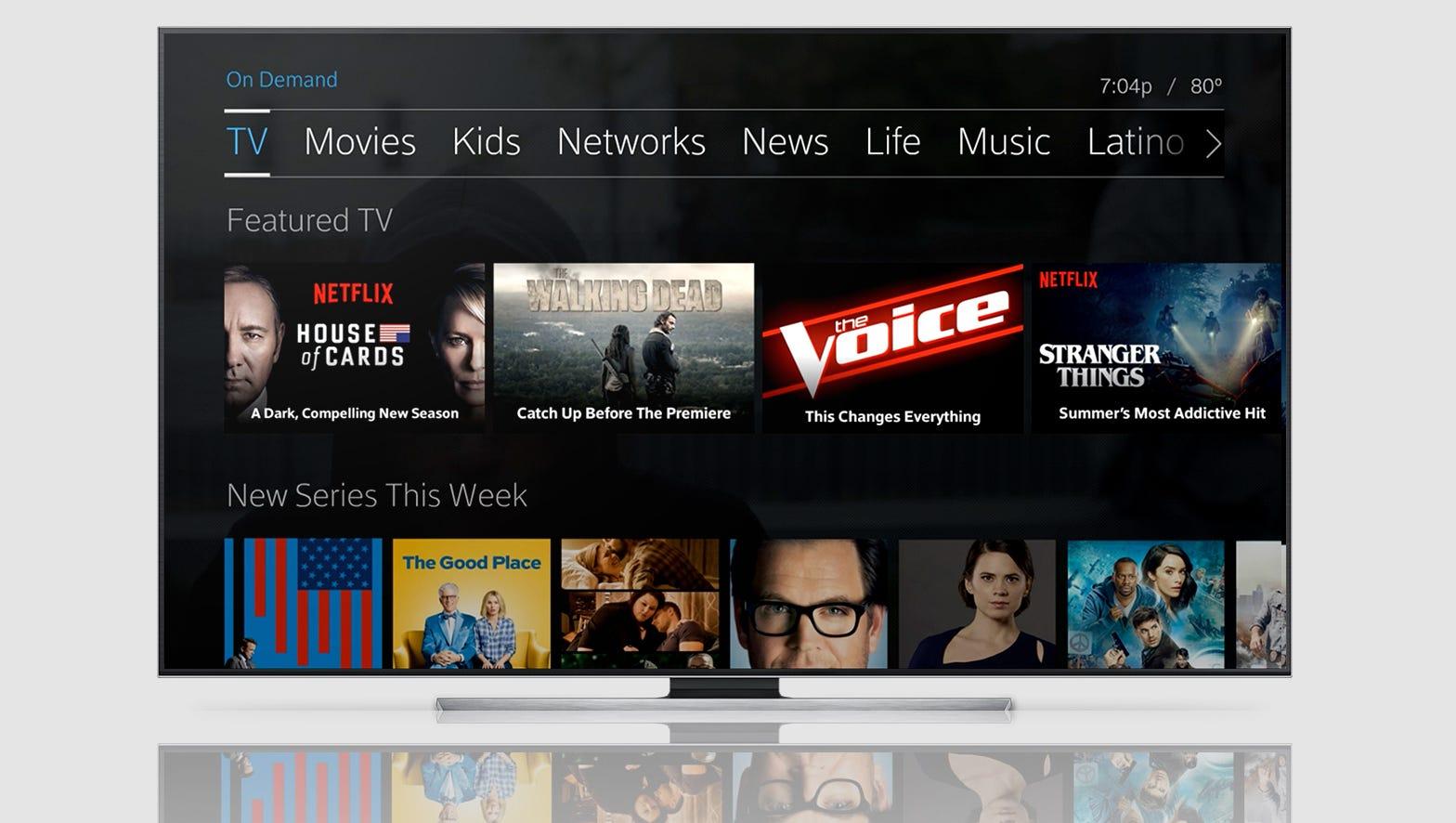 Comcast, Netflix partner on new viewing technology
