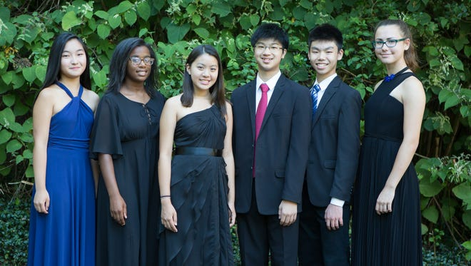 """Six teenage prodigies of piano, violin and voice will join hands at the Watchung Arts Center on Saturday, October 29 at 8 PM, in """"The Millennials: Sunshine and Music"""", a concert to benefit the Sunshine Kids Foundation and The Watchung Arts Center."""