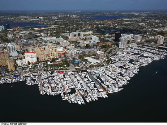 The Palm Beach International Boat Show returns to the water and shore along Flagler Drive in downtown West Palm Beach beginning Thursday.
