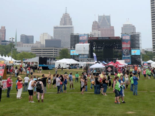 West Riverfront Park in Detroit played host to the WYCD Downtown Hoedown in June 2015.