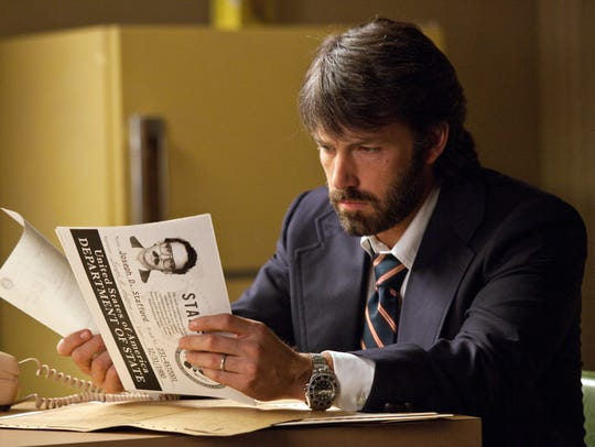"""Ben Affleck produced, directed and starred as Tony Mendez in """"Argo,"""" based on the real-life rescue of American embassy workers in Iran in 1980."""