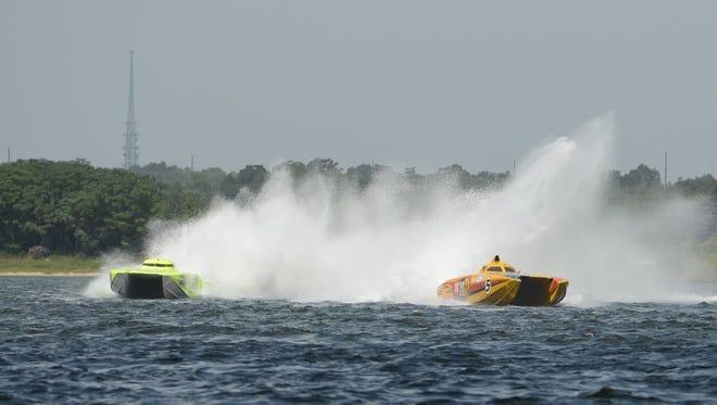 Speed-boat races