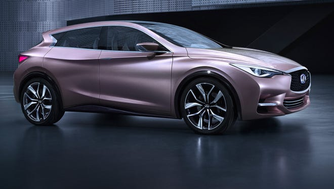 Infiniti has released a look at its Q30 crossover concept