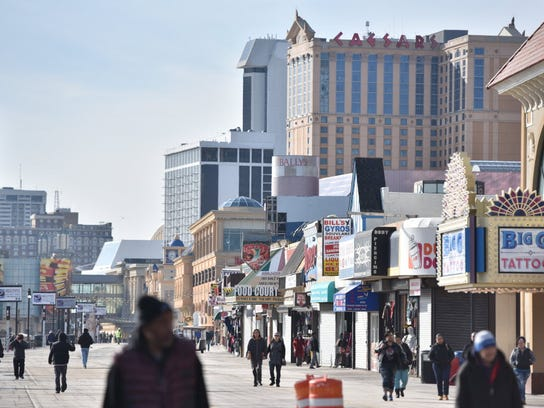 Atlantic City casinos would be open to legal sports