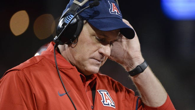 Rich Rodriguez was fired as the University of Arizona's head football coach after a notice of claim alleging a hostile workplace was filed.