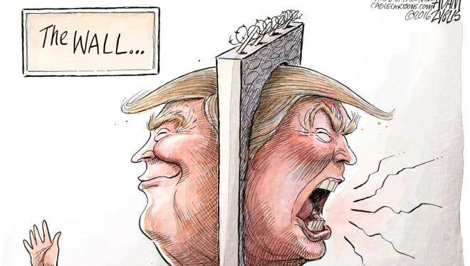 Adam Zyglis, The Buffalo News, drew this editorial cartoon.