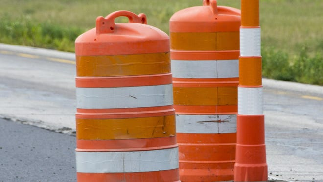 Work on Pine Grove Avenue was slated to start Tuesday and continue through Friday.