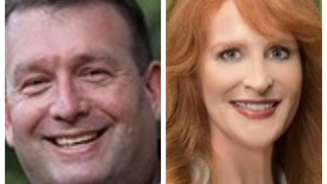 Brian Kramer and Beverly McCallum are candidates for state attorney in Alachua County but an appeals court has ruled McCallum cannot run because a suspension from the Florida Bar disqualifies her.